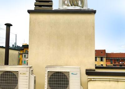 Aspiratore ElectroWhisper 300/ aspirazione bagni ciechi condominio (Milano) Dopo l'installazione